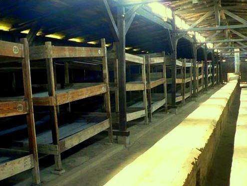 Sleeping area of the prisoners
