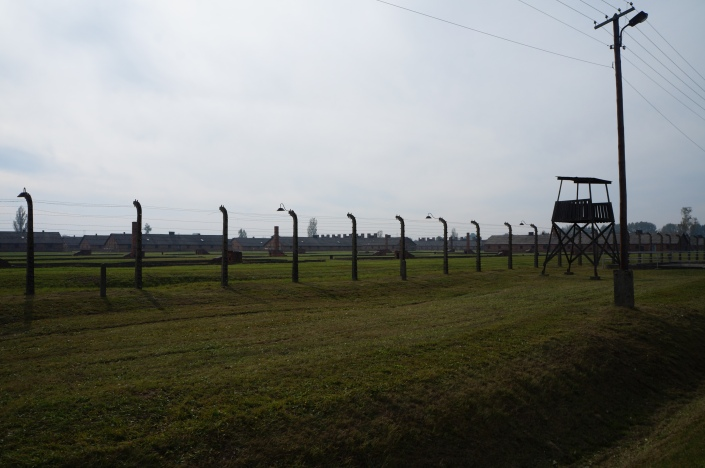 Remains of the gas chambers