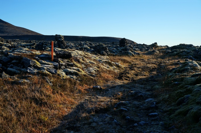 The ancient path used by the Vikings for commerce