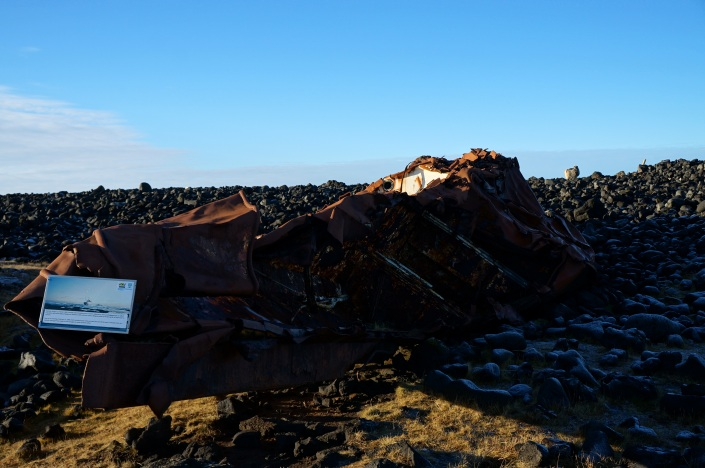 Shipwrecks were a fact of life in Reykjanes
